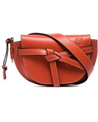 Loewe Mini Gate Belt Bag - Orange