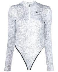 Nike Body mit Schlangen-Effekt - Weiß