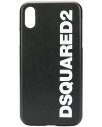 DSquared² IPhone X-Hülle mit Logo-Print - Schwarz