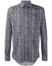 Pal Zileri - Printed Shirt - Lyst