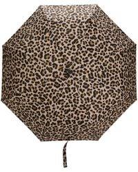 Mackintosh Ayr レオパードプリント 傘 - マルチカラー