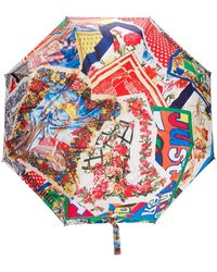 Moschino Зонт С Логотипом - Многоцветный