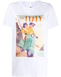 Ultrachic - プリント Tシャツ - Lyst