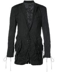 D.GNAK - Textured Blazer - Lyst