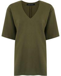 Gloria Coelho Shortsleeved blouse - Vert