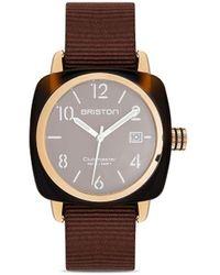 Briston Orologio Clubmaster Classic 40mm - Marrone