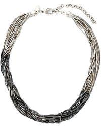 Iosselliani - 'black Hole Sun' Necklace - Lyst