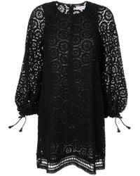 See By Chloé - Embroidered Playsuit - Lyst