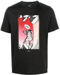PS by Paul Smith - グラフィック Tシャツ - Lyst