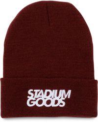 Stadium Goods Lock Up ビーニー - パープル
