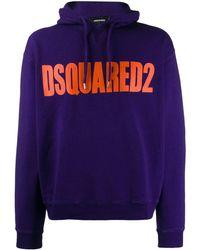DSquared² Sweater Met Capuchon - Meerkleurig