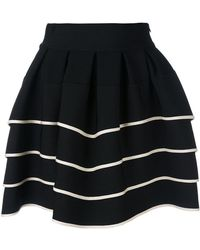 Fausto Puglisi - Striped Full Skirt - Lyst