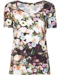 Adam Lippes Floral Print T-shirt