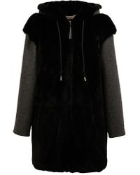 Marni - Hooded Rabbit Fur Coat - Lyst