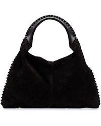 Valentino Garavani Panelled Tote Bag - Black