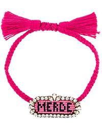 Shourouk Merde Bracelet - Multicolour