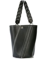 Proenza Schouler Whipstitch Medium Hex Bucket Bag - ブラック