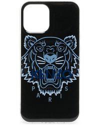 KENZO Чехол Для Iphone 12 Pro Max С Логотипом - Черный