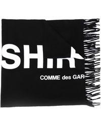 Comme des Garçons - ロゴ ニットスカーフ - Lyst