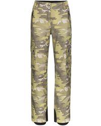 Colmar Camouflage Pattern Ski Pants - Green