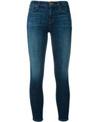 J Brand Capri-Jeans mit Taschen - Blau