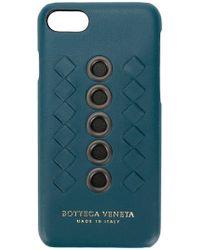 Bottega Veneta - ÉTUI POUR APPAREIL HIGH-TECH EN CUIR NAPPA À ŒILLETS - Lyst