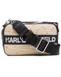 Karl Lagerfeld K/skuare ショルダーバッグ - ブラック