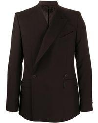 Givenchy Blazer Met Dubbele Rij Knopen - Zwart