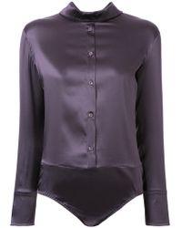Nina Ricci - Shirt Bodysuit - Lyst