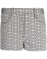 Givenchy ロゴ ショートパンツ - ホワイト