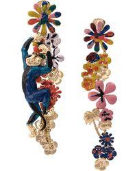 Missoni Climbing Monkey Drop Earrings - Multicolor