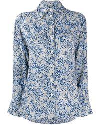 MICHAEL Michael Kors - Блузка С Цветочным Принтом - Lyst