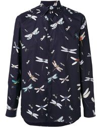 Valentino - Hemd mit Print - Lyst
