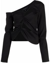 Sid Neigum Tension Cut-out Top - Black