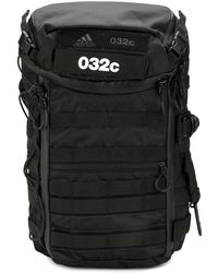 adidas ロゴ バックパック - ブラック