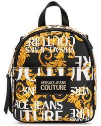Versace Jeans Barocco Print Backpack - Zwart