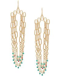 Aurelie Bidermann - Dangling 'sioux' Earrings - Lyst