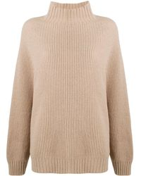 Wolford Oversized Roll-neck Sweater - Brown