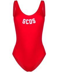 Gcds ロゴ 水着 - レッド