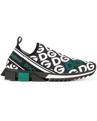 Dolce & Gabbana - Zapatillas con logo Sorrento - Lyst