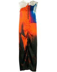 Colville Kleid mit Print - Orange
