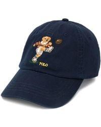 Polo Ralph Lauren Rugby Bear キャップ - ブルー