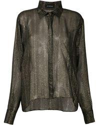 Olympiah Рубашка Rose - Черный