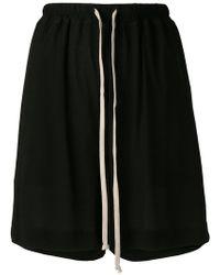 Rick Owens - Jersey Shorts - Lyst