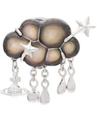 Vivienne Westwood 'selene' Clutch Pin - Metallic