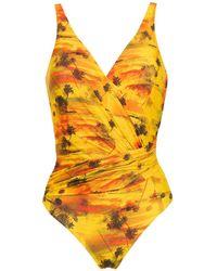 Lygia & Nanny Printed Maisa Swimsuit - Yellow