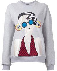 Holly Fulton - Lady Patch Sweatshirt - Lyst