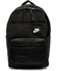 Nike Sac à dos à empiècement contrastant - Noir