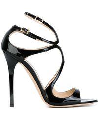Jimmy Choo 'lance' Sandals - Black