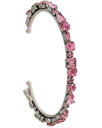 DANNIJO - Cielo Embellished Cuff Bracelet - Lyst